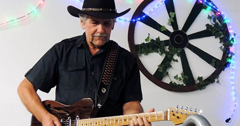 Alain Blowers - Guitarist, Munna Creek Country Music Festival